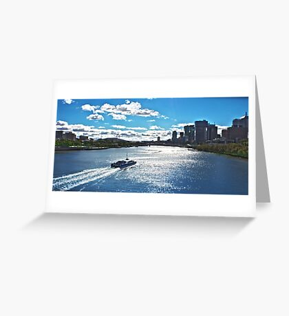 Brisbane City Cat  Greeting Card