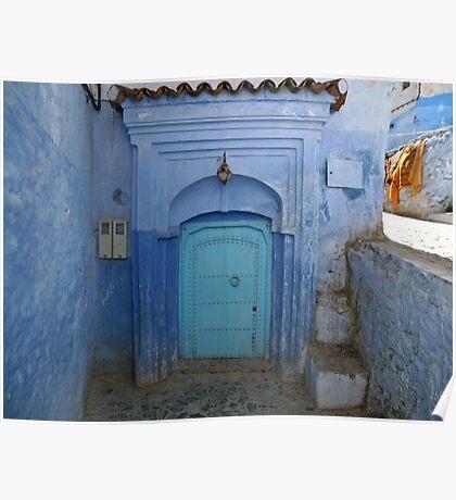 The Blue Corner Poster