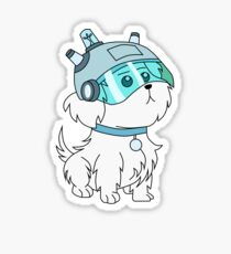 Snuffles/Snowball (Rick and Morty)  Sticker