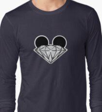 Diamond Ears BW Long Sleeve T-Shirt