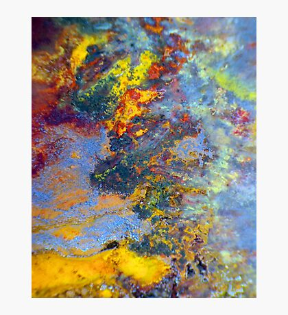 Chemical Fire Photographic Print