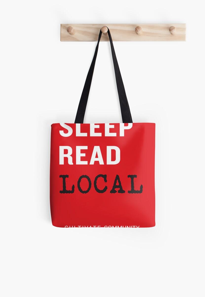 Eat Sleep Read Local by IndieBound