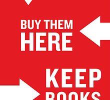 Keep Books Here by IndieBound