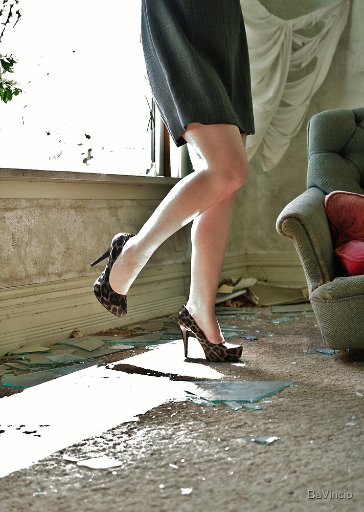 Nowhere To Run Nowhere To Hide, But I Have My Shoes! by BaVincio