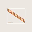 Bacon - Minimalist Bacon by Galen Valle