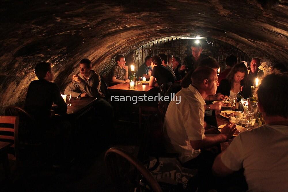 Gordan's Wine Bar, London - In the Cellar by rsangsterkelly