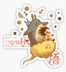 My friend goku Sticker