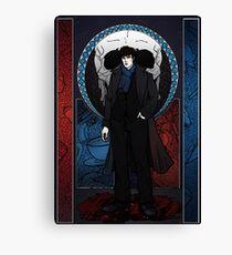 Sherlock Nouveau: Sherlock Holmes Canvas Print