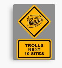 Trolls - sites Canvas Print