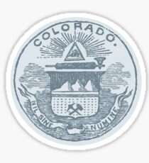Colorado (All Tees) Sticker