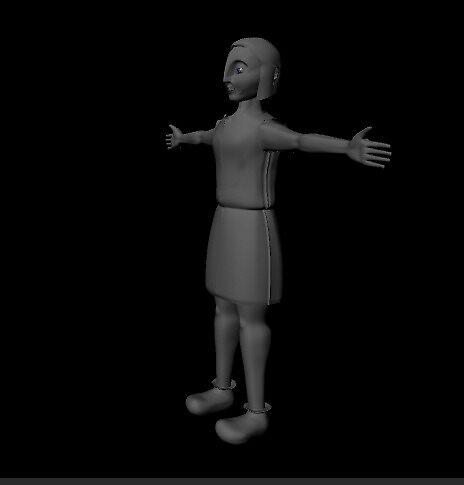 Turiya Isometric View - Maya Model by Jackie Aceto