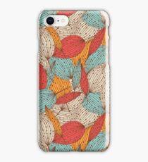 Romantic leaves iPhone Case/Skin