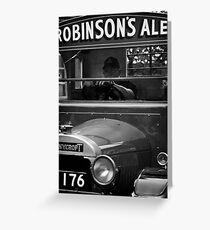 Robinson's Ales Greeting Card