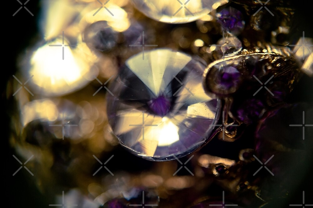 Diamonds and Gold SuperMacro by AnnArtshock