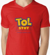TOL-STOY III Men's V-Neck T-Shirt