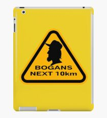 Bogans next 10km (triangle) iPad Case/Skin