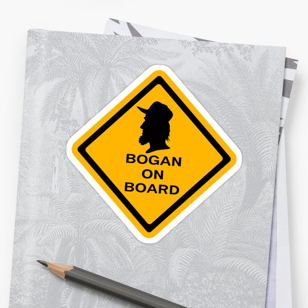 Bogans on board (diamond) by Diabolical