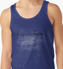 (f) is for function Tank Top