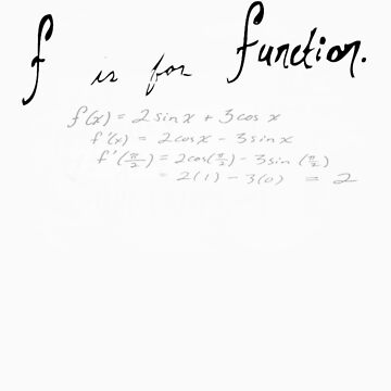 (f) is for function by NimbusArt