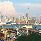 NYC Skyline Thundercloud Series July 1st 2012 by mikepaulhamus