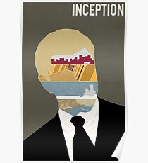 Inception minimalist poster Poster