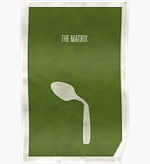 The Matrix minimalist poster Poster