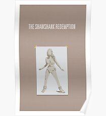 Shawshank Redemption minimalist poster Poster