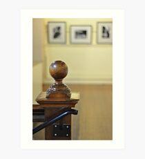 Baluster & Images Art Print