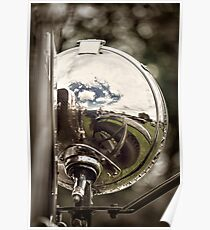 Chrome Reflections Poster