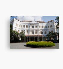 Raffles Hotel, Singapore Canvas Print