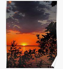 Superior Sunset Poster