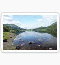 Loch Lubhair, the Highlands , Scotland Sticker