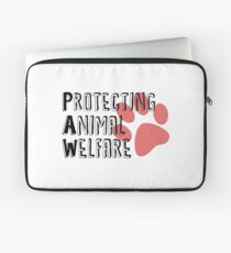 Protecting Animal Welfare Merchandise Laptop Sleeve