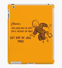 Get Out of Jail Free iPad Case/Skin