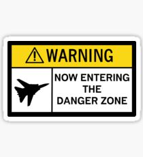 Danger Zone - Warning Sticker