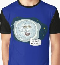 The mighty Boosh - I'm the moon Graphic T-Shirt