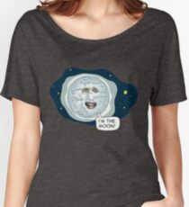 The mighty Boosh - I'm the moon Women's Relaxed Fit T-Shirt