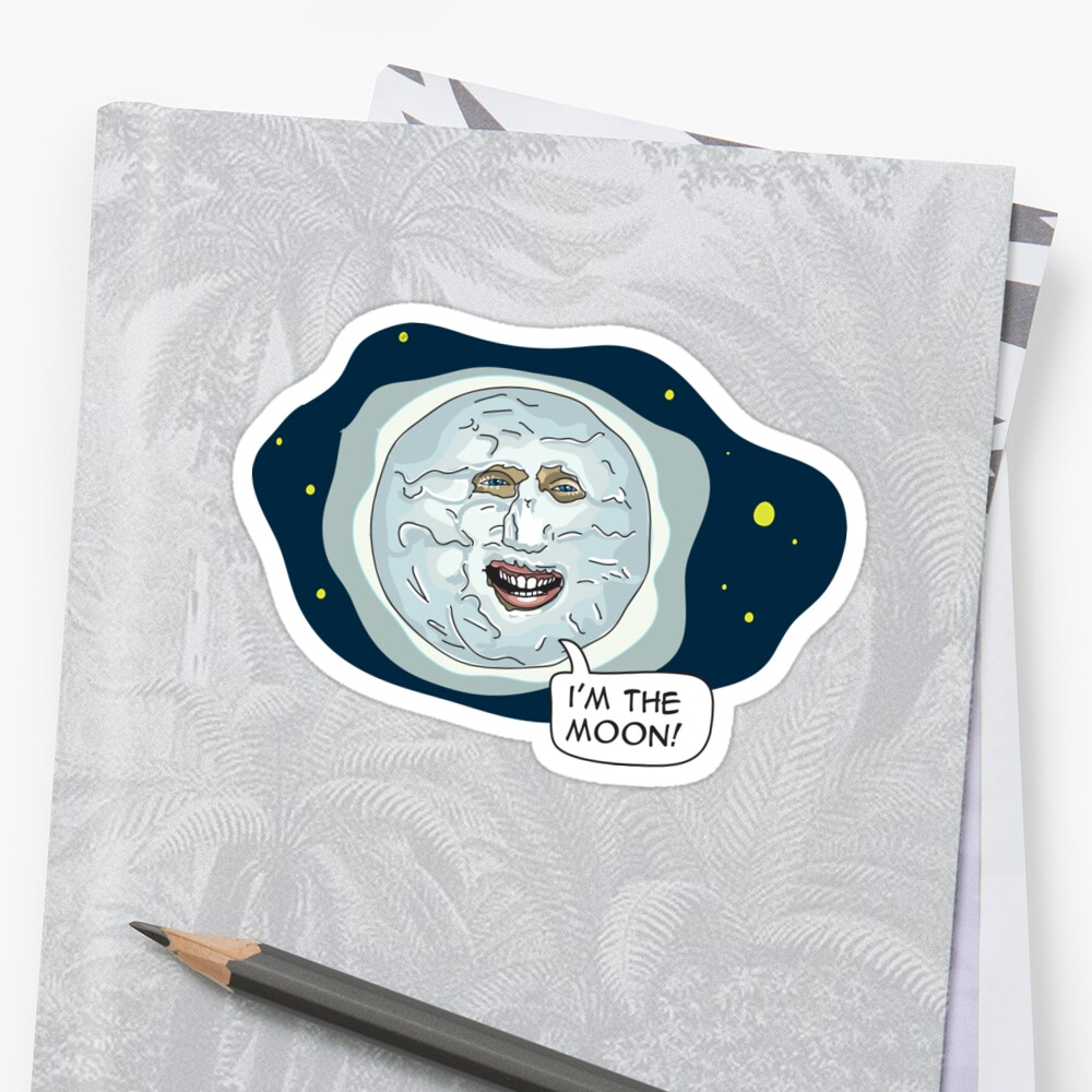 The mighty Boosh - I'm the moon by ptelling