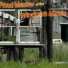 Old window challenge by Antonia  Valentine