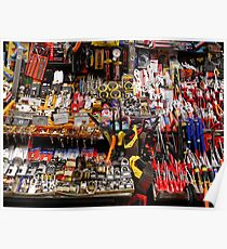 Lots of little tools (and some locks) Poster