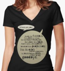 Doomsday 2 Women's Fitted V-Neck T-Shirt