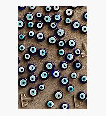 With so many eyes it's hard to focus Photographic Print