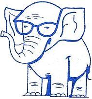 Goldwater Elephant by Libertopia