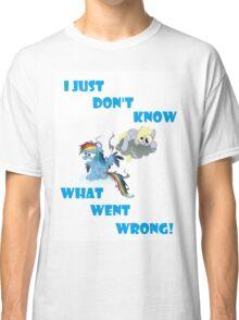 Derpy's gonna Derp - Poor Rainbow Dash Classic T-Shirt