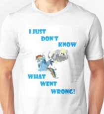 Derpy's gonna Derp - Poor Rainbow Dash Unisex T-Shirt
