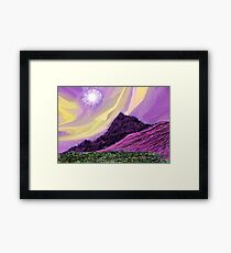 Landscape Composition-3 Framed Print