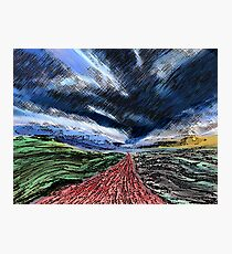 Gathering Storm Photographic Print