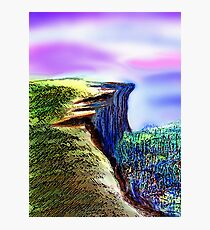 The Cliff Photographic Print