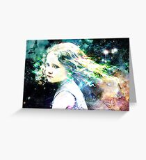 i will give you all the rainbows ,the birds and stars  Greeting Card