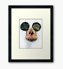 Elderly Mouse Framed Print